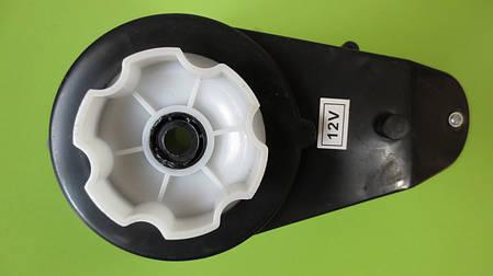 Редуктор с мотором 12 Вольт 10000 об/мин для детских электромобилей M 2735, HL718, M2395, фото 2