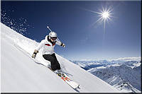 Светящиеся картины Startonight Лыжник Печать на Холсте Горы Зима Снег Спорт Декор стен Дизайн дома Интерьер