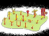 Уличная спортивная площадка