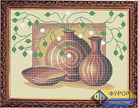 Схема для вышивки бисером - Натюрморт из кувшинов, Арт. НБп3-18