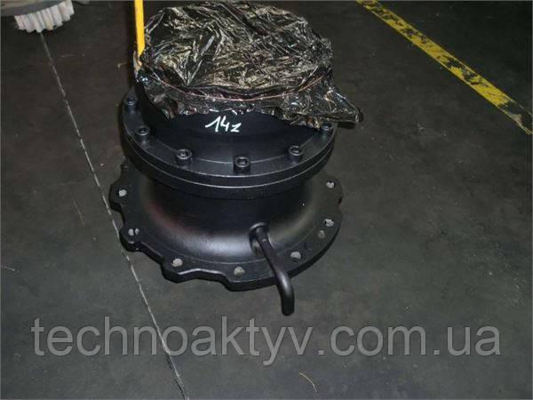 Редуктор поворота башни Поворотный редуктор  Опорно-поворотный круг (ОПУ) Fiat Hitachi Ex 255 - Редуктор Поворота