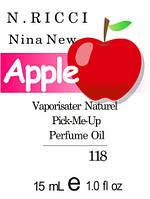 Парфюмерное масло версия аромата Nina New  Nina Ricci нота Bergamot - 15 мл