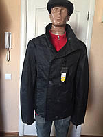 Куртка мужская черная демисезонная Италия Antony Morato