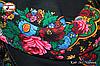Хустка Українська вовняна справжня з шовковою бахромою, фото 2