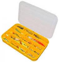 Коробка  для рыболовных снастей Aquatech 7035 ,35 ячеек со съемными перегородками, (300x200x45 мм), рыбалка