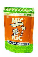 Консерва для котов Мис Кис с ягненком  100г