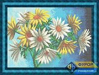 Схема для полной вышивки бисером - Букет цветов, Арт. НБп3-31