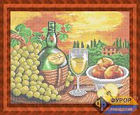 Схема для вышивки бисером - Вино и фрукты, Арт. НБп3-37