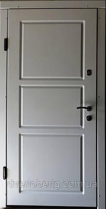 УЦЕНКА Входная дверь модель П5-200 белый супермат, фото 2