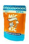 Консерва для котов Мис Кис с уткой  100г