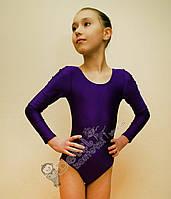 Купальник для танцев фиолетовый