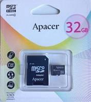 MicroSD Apacer 32Gb + адаптер (class 4)