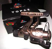 Рыболовная катушка Topaz To 40, задний фрикцион, 4 подшипника, товары для рыбалки