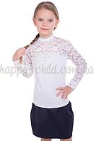 Блуза Лицей-гипюр (длинный рукав), Tashkan