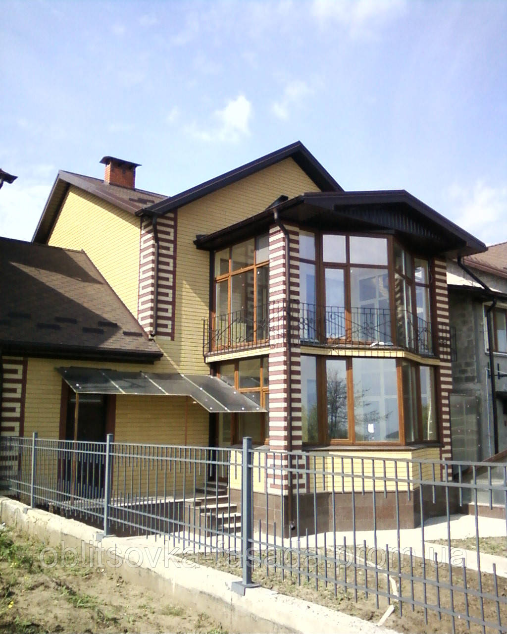 Облицовка фасадов системой сканрок,вент фасад,утепление.