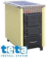 Котел-плита твердотопливный KALVIS-4С (2 конфорки) 8 кВт
