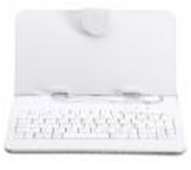 Case-Stand Universal 7' white з Клавіатурою