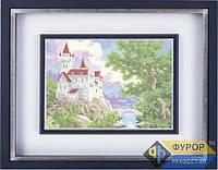 Схема для полной вышивки бисером - Замок на холме, Арт. ПБп3-8