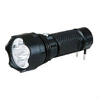 Фонарь аккумуляторный YAJIA YJ-1175 5LED, ручной яркий фонарик