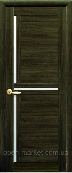 Модель Тринити экошпон стекло межкомнатные двери, Николаев
