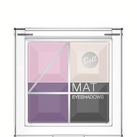 Тени для век многоцветные матовые Bell 4 Mat № 03, фото 1
