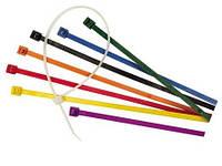 Стяжки кольорові NCTCLR-100/25/100  100mm x 2,5 mm 100штук в уп.