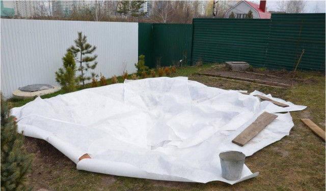 Ландшафтный геотекстиль 150 г/м2 (2*135м), фото 2
