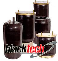 Пневморессора кабины без амортизатора, без грибка, передние/задние, BLACKTECH, 11012C