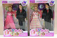 Кукла типа Барби - Семья B48, беременная куколка с мужем и аксессуарами