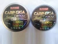 Леска рыболовная BratFishing carp GIGA camou 500m (радуга) 0.25, лески, рыболовные снасти, товары для рыбалки, фото 1