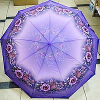 Зонт женский Розы полуавтомат
