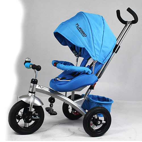 Велосипед трёхколёсный M 3194-2A синий