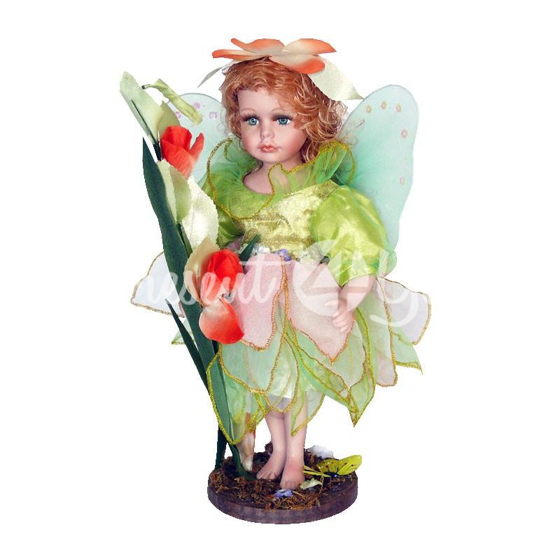 Статуэтка-кукла 'Лесная фея', h-35 см.
