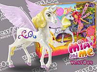 "Mia and Me Onchao зі звуковими та світловими ефектами, 20 см (Единорог Ончао из м/ф ""Мия и Я"" Mattel BJR53)"