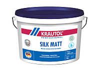 Краска интерьерная латексная для стен и потолков матовая,стойкая к мытью на водной основе,Silk Matt - 2,5 л.