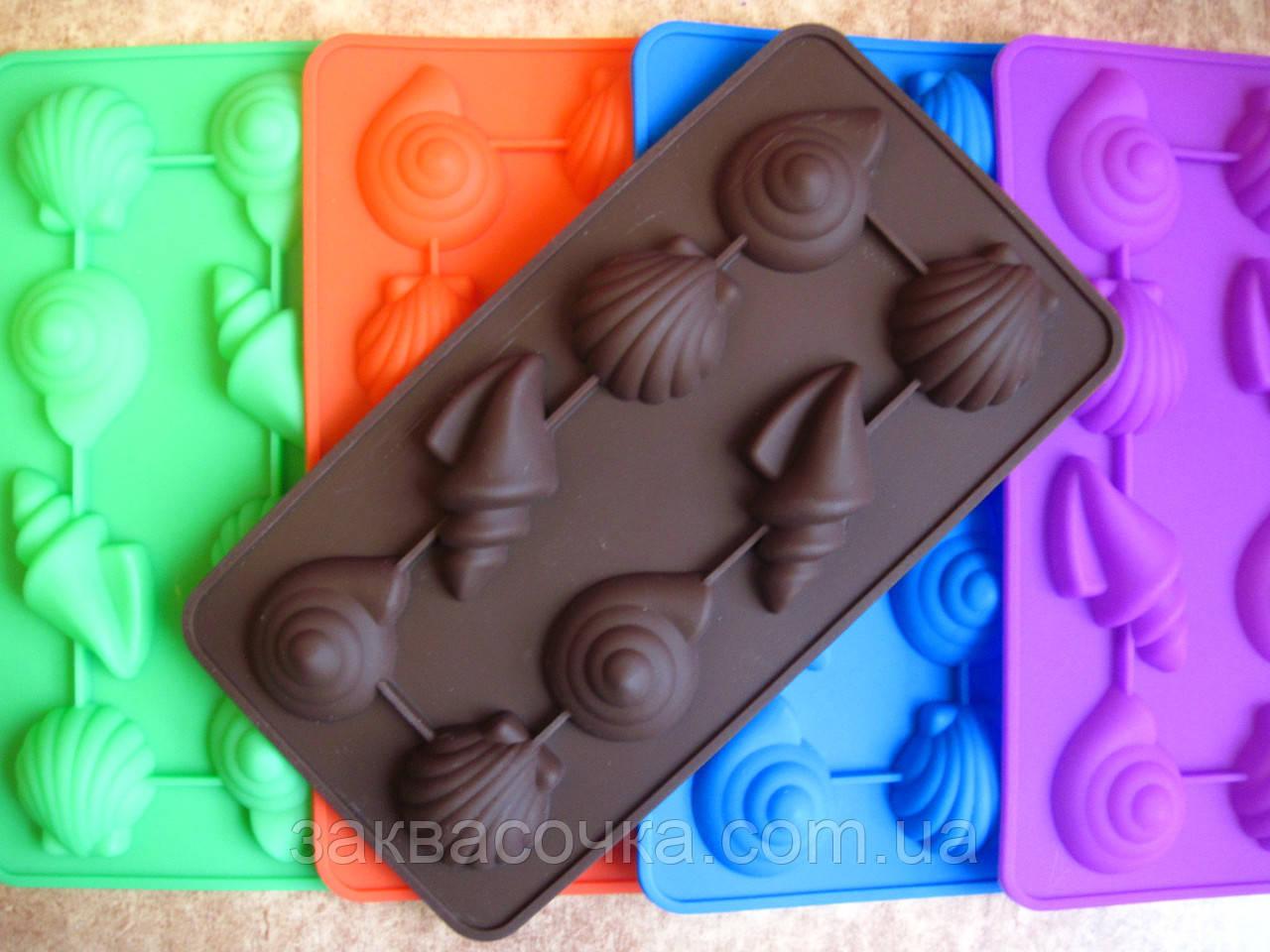 Форма РАКУШКИ (силиконовая,для конфет)