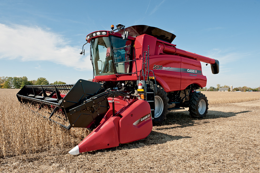 Аренда комбайна CASE+зерновая жатка -  Agrotechnology в Умани