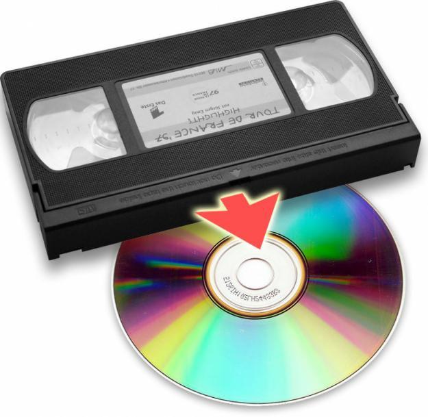 Запись с видеокассеты на диск в Днепре