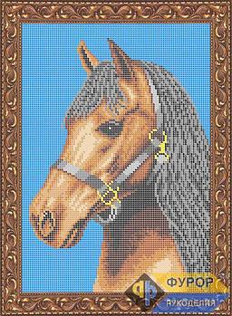 Схема для вишивки бісером картини Конячка (ЖБп4-003-1)