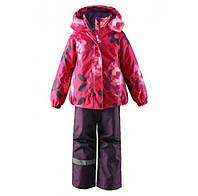 Комплект (куртка + штаны на подтяжках) для девочки LASSIE 723694