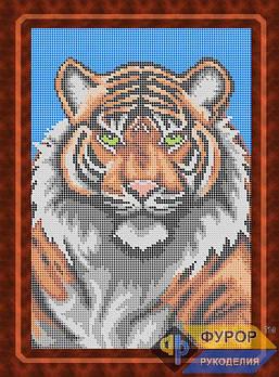 Схема для вишивки бісером картини Тигр (ЖБп4-005-1)