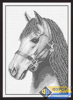 Схема для вишивки бісером картини Кінь (ЖБп4-003-2)