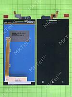 Дисплей Lenovo P70 с сенсором Копия АА Черный