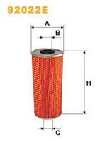 Фильтр масляный WIX 92022E МАН Ф 90 Евро 1 (MAN F 90) 51055040094