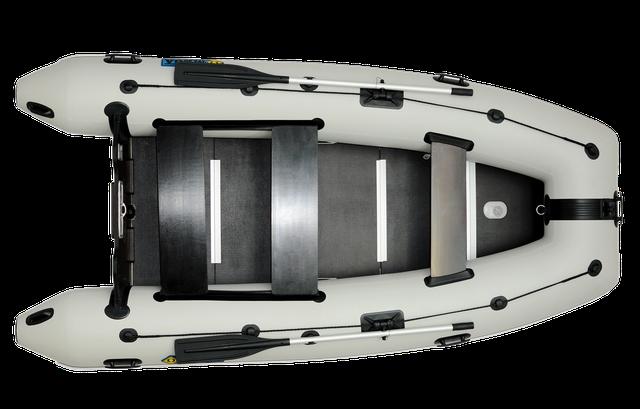 лодки с жестким дном - надувные лодки с жестким дном и транцем под мотор - килевая лодка пвх Omega 360  с жестким фанерным полом - лодка 360 пвх купить - лодки с фанерным жестким полом