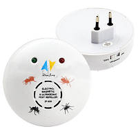 Отпугиватель грызунов и насекомых стационарный ZF830E универсальный, мощность 6 Вт/ч, работа от сети