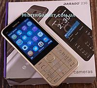 Мобильный телефон Nokia 230 Золото. Экран 2.8'' GPRS копия Нокия 230 MicroUSB