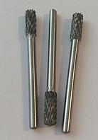 """Борфреза, тип """"В"""" (цилиндр с торцевыми зубьями), 6,0х15х3мм"""