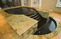 Облицовка бассейнов камнем под ключ
