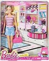 Кукла Барби со щенками и аксессуарами Barbie with Puppy Accessory
